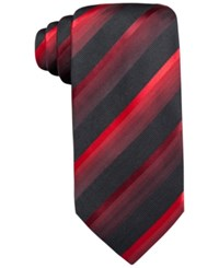 John Ashford Scott Stripe Tie Only At Macy's Red