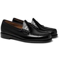 G.H. Bass And Co. Weejuns Larson Leather Penny Loafers Black