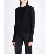 Joseph Fitted Cashmere Cardigan 010Black