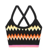 Missoni Activewear Knitted Sports Bra Multicoloured