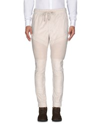 Black Kaviar Casual Pants Beige