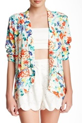 Minkpink Flower Crush Blazer Multi