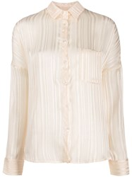 Semicouture Lightweight Ribbed Shirt 60