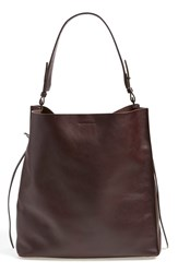 Allsaints 'Paradise North South' Tote Burgundy
