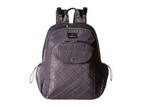 Baggallini Ready To Run Baby Backpack Smoke Backpack Bags Gray