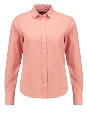 Gant Air Shirt Burnt Ochre Orange