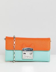 Paul And Joe Sister Clutch Cross Body Bag Green