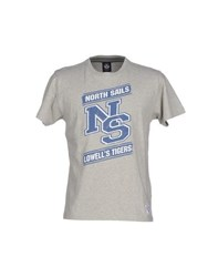 North Sails Topwear T Shirts Men Light Grey