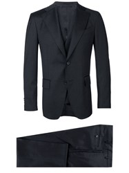 Gabriele Pasini Three Piece Suit Black