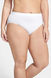 Wacoal 'B Smooth' High Cut Briefs Plus Size 3 For 39 White