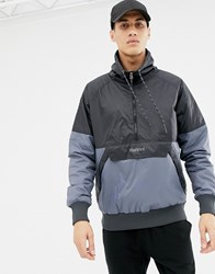 Marmot Lynx Insulated Anorak In Black Grey