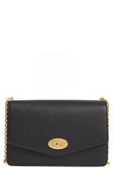 Mulberry Large Postman's Lock Calfskin Leather Crossbody Clutch