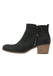 Pier One Ankle Boots Nero Black