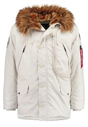 Alpha Industries Parka Offwhire Off White