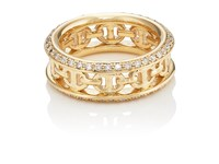 Hoorsenbuhs Women's Chassis Ii Ring Gold