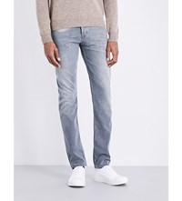 7 For All Mankind Chad Slim Fit Straight Jeans Grey