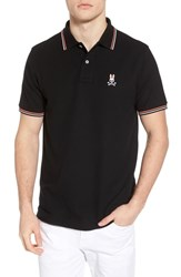 Psycho Bunny New Neon Polo Black