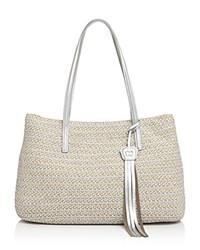 Eric Javits Dame Brooke Tote Frost White Mix