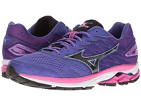 Mizuno Wave Rider 20 Liberty Black Electric Women's Running Shoes Blue