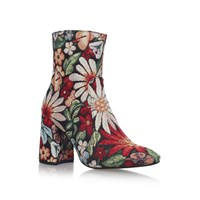 Kurt Geiger Kg Rilly Ankle Boots Multi Coloured Multi Coloured