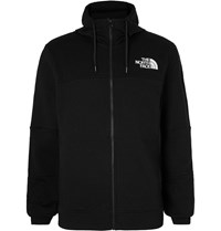 The North Face Himalayan Loopback Cotton Jersey Hoodie Black
