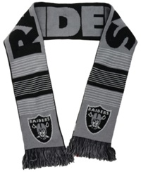 Forever Collectibles Oakland Raiders Reversible Split Logo Scarf