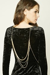 Forever 21 Layered Body Chain Gold