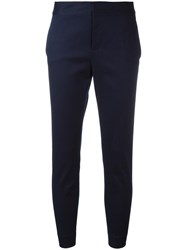 Dsquared2 Skinny Trousers Blue
