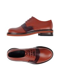 Marni Footwear Lace Up Shoes