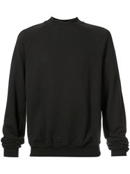 John Elliott Hellweek Crewneck Sweatshirt Men Cotton M Black
