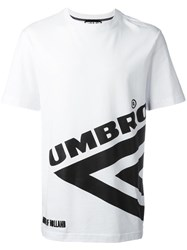 House Of Holland Umbro Print T Shirt White