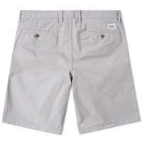 Norse Projects Aros Light Twill Short Grey