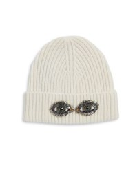 Bcbgmaxazria Eye See You Beanie White
