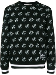 Bally Skull X Ray Sweatshirt Black