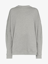 Y Project Grey Paneled Hooded Sweater