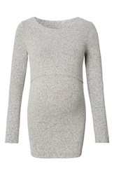 Noppies Women's Holly Maternity Sweater Grey Melange