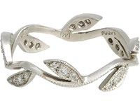 Cathy Waterman Women's Vine Ring No Color