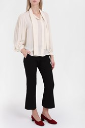 Joseph Women S The Bill Pretty Shirt Boutique1 White