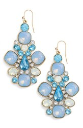 Women's St. John Collection Multi Tone Swarovski Crystal French Wire Earrings