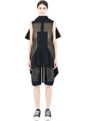 Rick Owens Sphinx Sequin Tunic Top Black