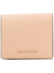 Michael Michael Kors Jet Set Travel Wallet Nude Neutrals