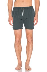 Scotch And Soda Medium Length Swimshort Olive