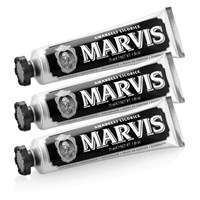 Marvis Amarelli Liquorice Mint Toothpaste Triple Pack 3 X 75Ml