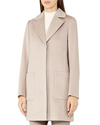 Reiss Harmony Wool Coat Parchment