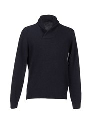 Private Lives Knitwear Jumpers Men Dark Blue
