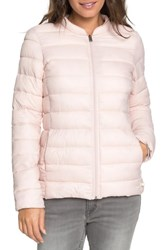 Roxy Endless Dreaming Puffer Coat Peach Whip