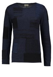 Nudie Jeans Dale Jumper Black Indigo Dark Blue