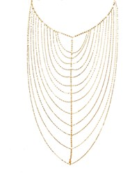 Lana 14K Gold Vanity Chain Necklace Yellow Gold