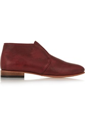Dieppa Restrepo Apolonia Textured Leather Boots