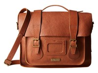 Dr. Martens 15 Leather Satchel Tan Satchel Handbags